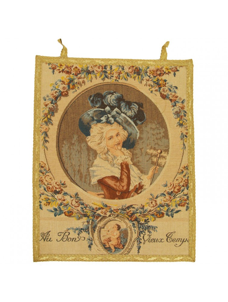 Gobelin - Dama w kapeluszu