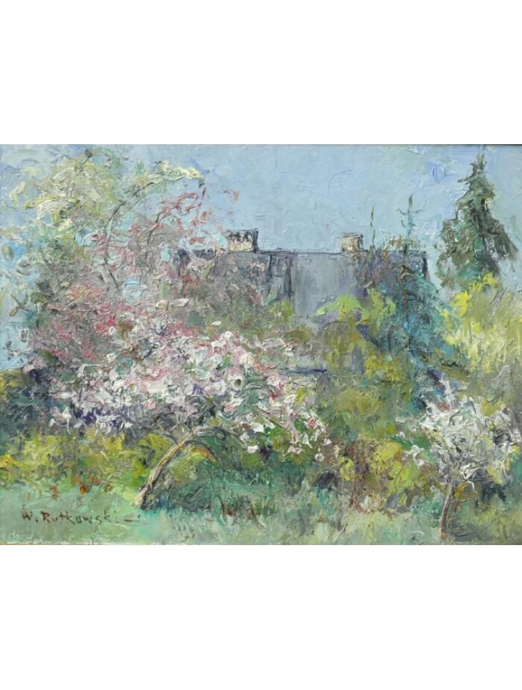 Ogród w Starych Jabłonkach