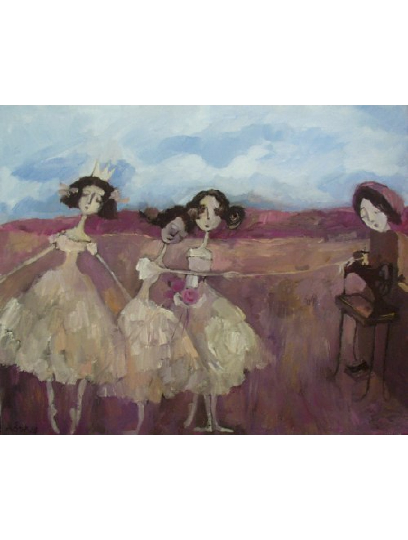 "Mariola Ptak - ""Taniec na wzgórzu"""