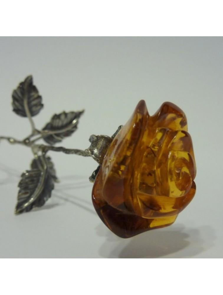 Bursztynowa róża
