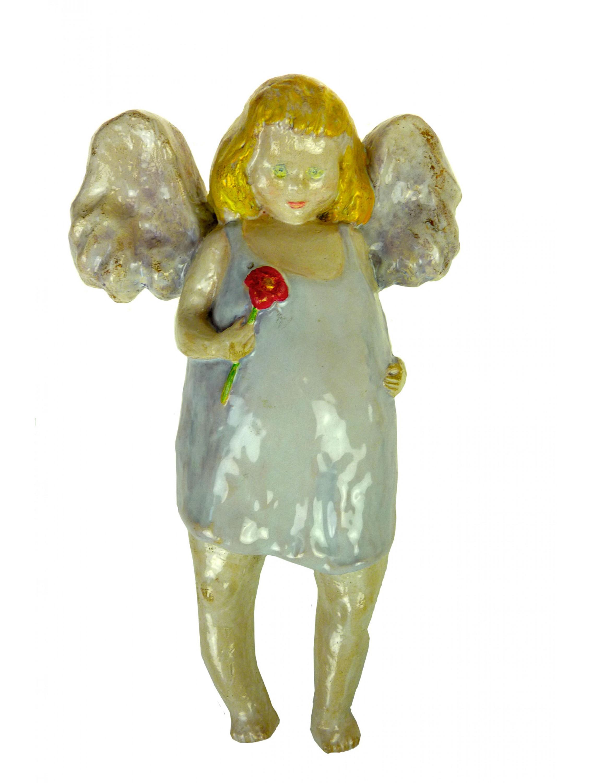 Danuta Rożnowska - Borys -  Anioł z kwiatem