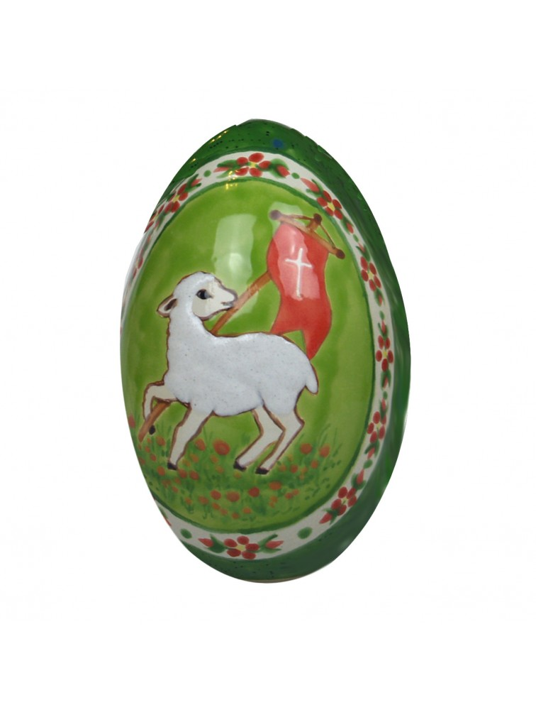 Andrzej Kicman - Ceramiczne jajo z motywem wielkanocnym