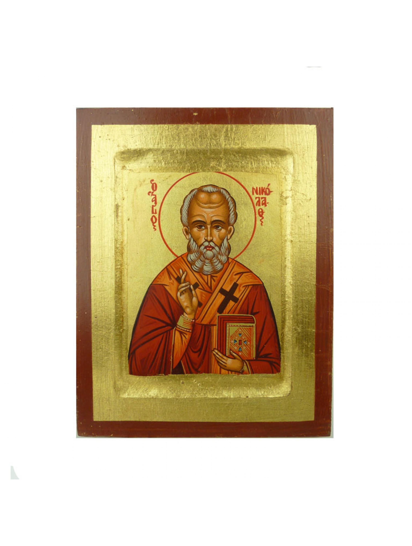 Święty Mikołaj - Ikona bizantyjska