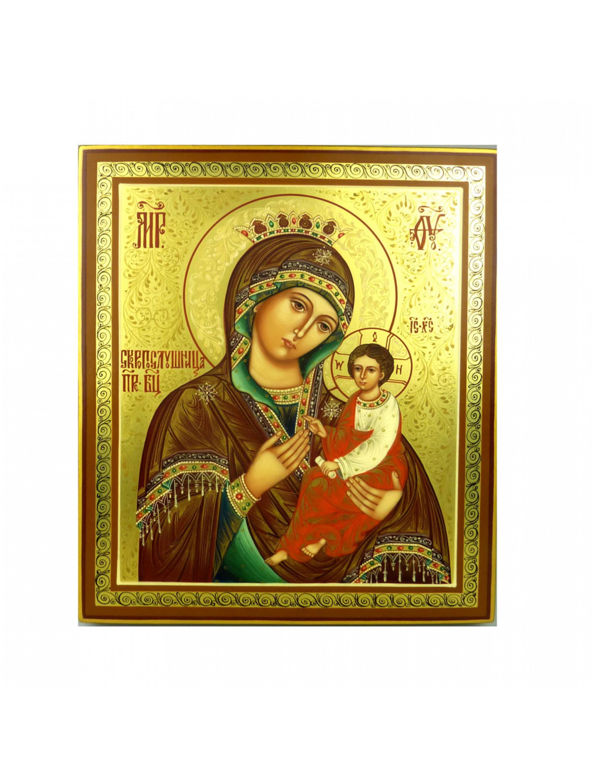 Oleg Potocki - Matka Boska z Dzieciątkiem - ikona