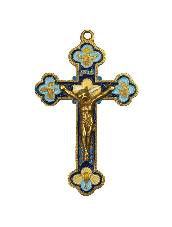 Krzyż emaliowany