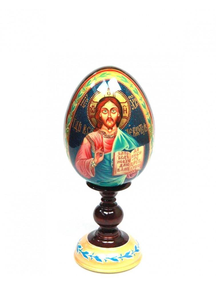 "Oleg Potocki - Jajko drewniane ""Jezus Chrystus"""
