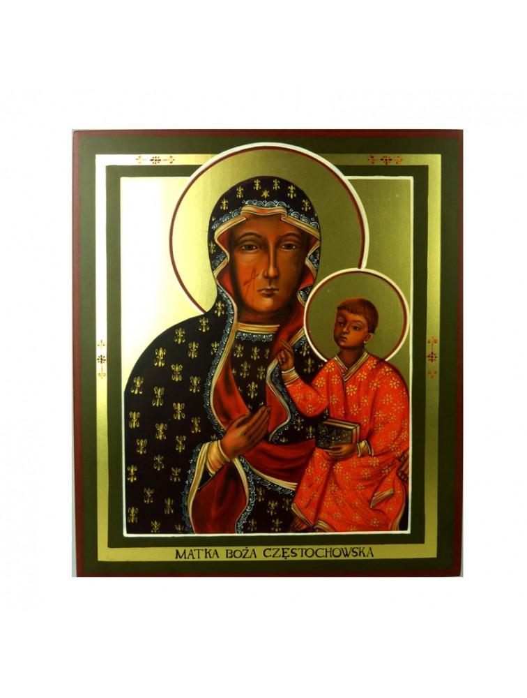 Oleg Potocki - Matka Boża Częstochowska - ikona
