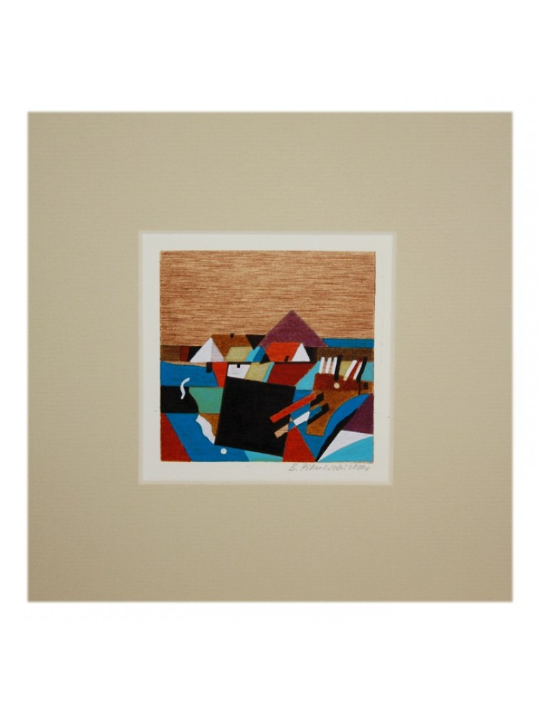 Grafika domy - B. Pikulicki