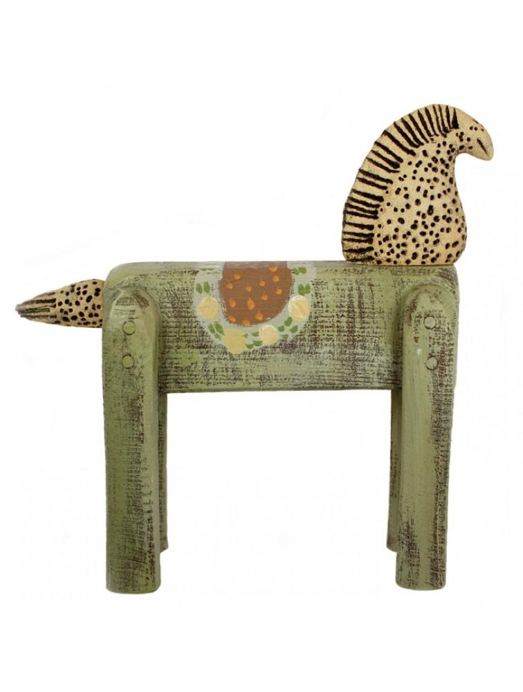 Rzeźba - szaty koń