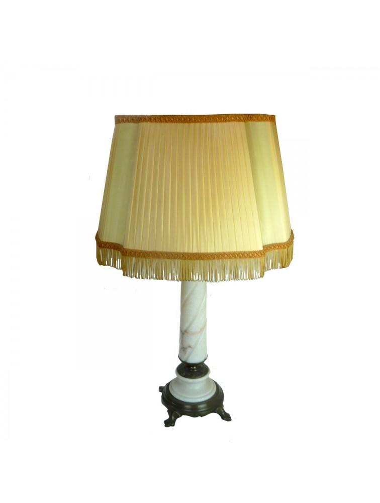 Lampa o marmurowej  podstawie