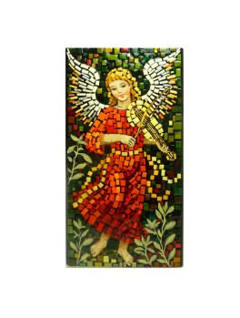 Aniołek ze skrzypcami - mozaika