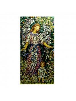 Anioł z dzieckiem - mozaika