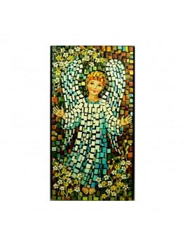 Aniołek w błękitnej szatce - mozaika