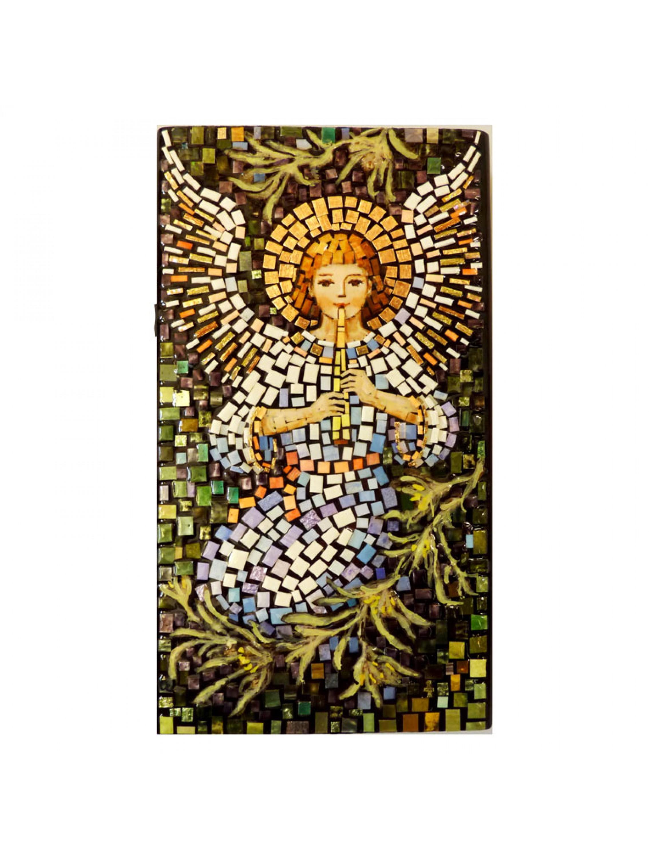 Aniołek z flecikiem - mozaika