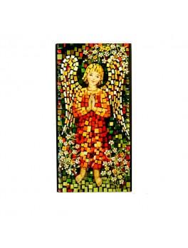 Aniołek w pomarańczowej szatce - mozaika