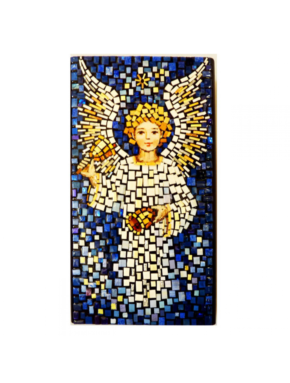 Aniołek z dzwonkiem - mozaika