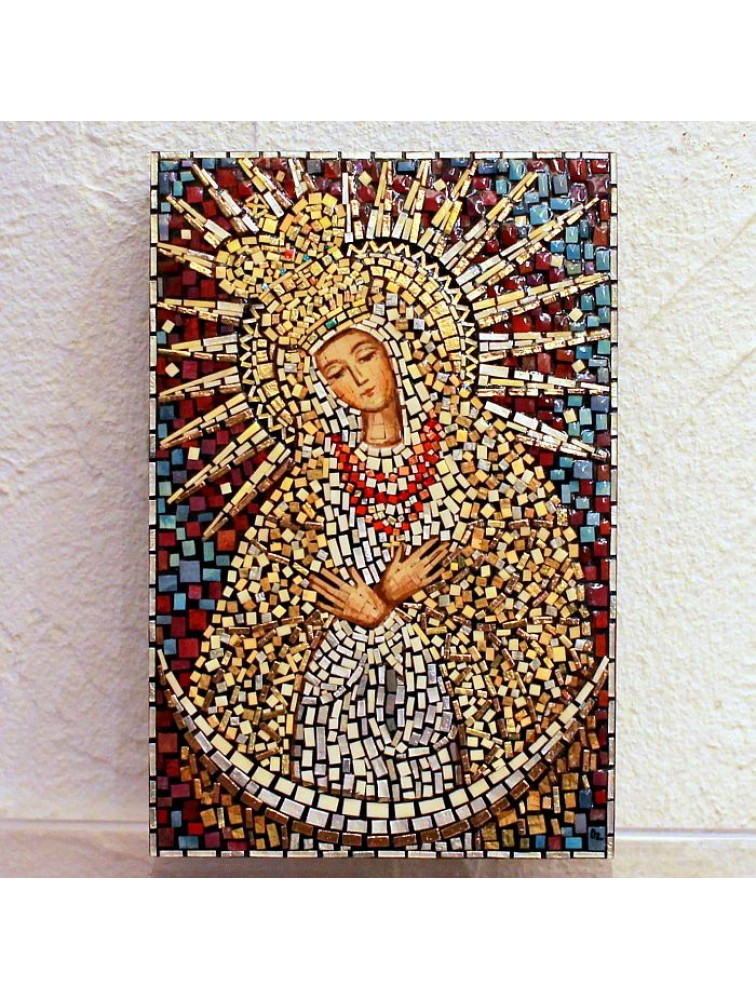Matka Boska Ostrobramska - mozaika