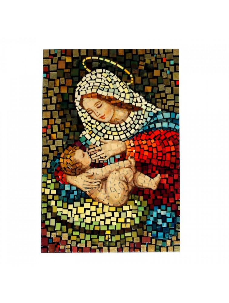 Matka Boska Karmiąca - Mozaika