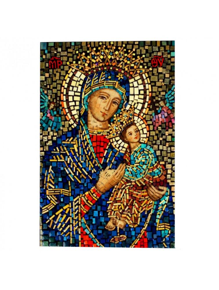 Matka Boska Nieustającej Pomocy - Mozaika