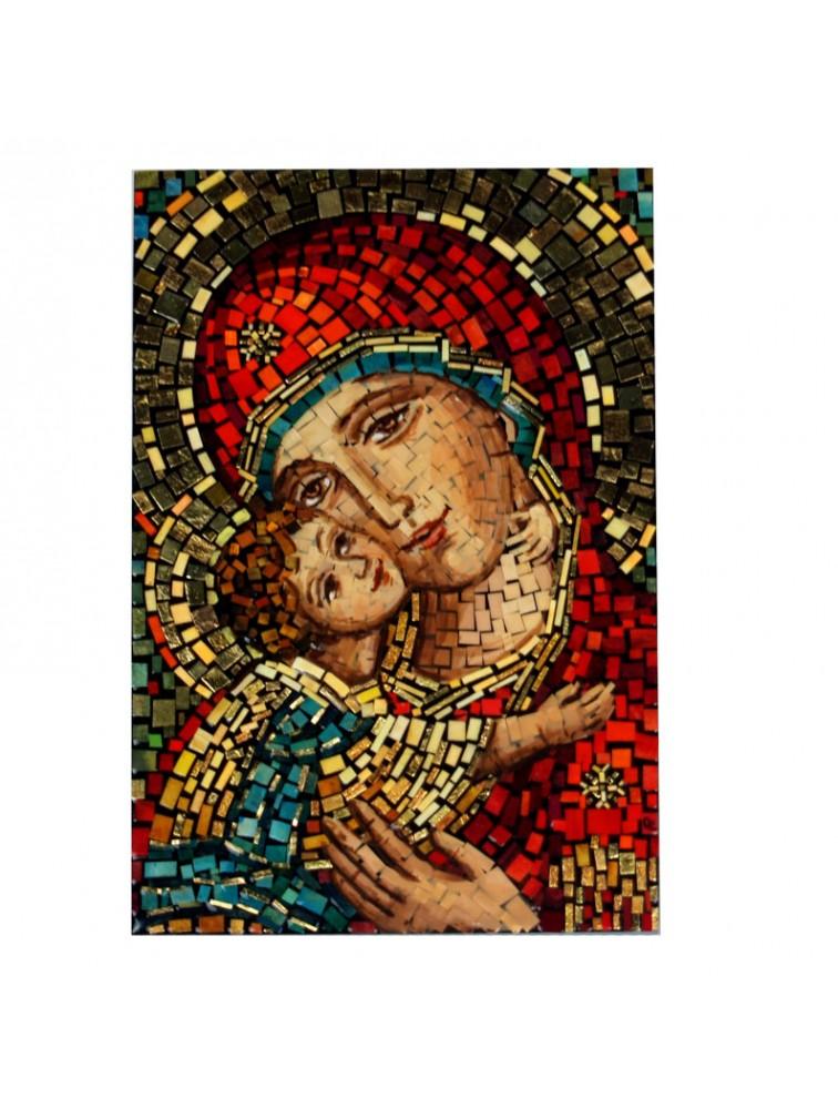 Matka Boska Włodzimierska - Mozaika