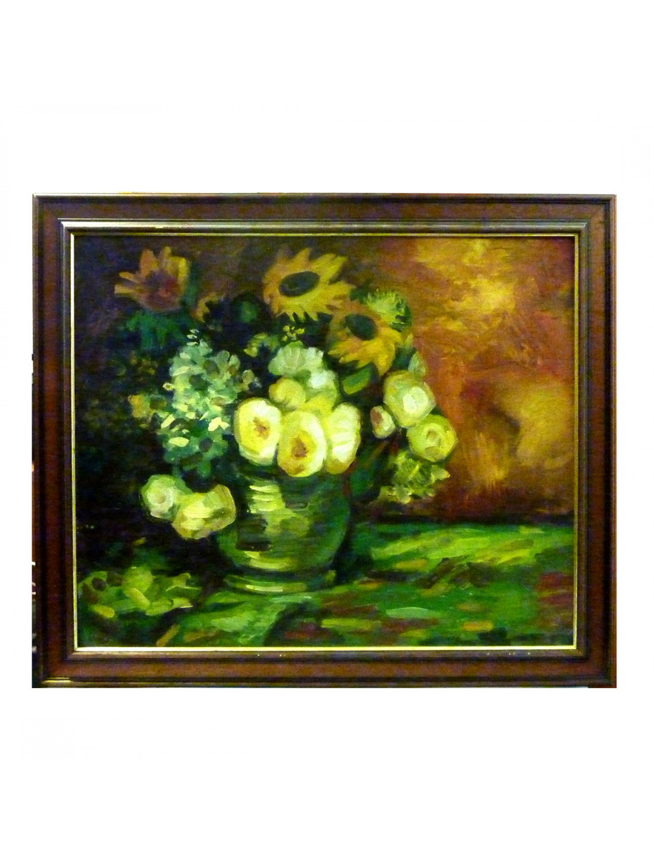 Kwiaty w wazonie - Maksymilian Fiodorowicz