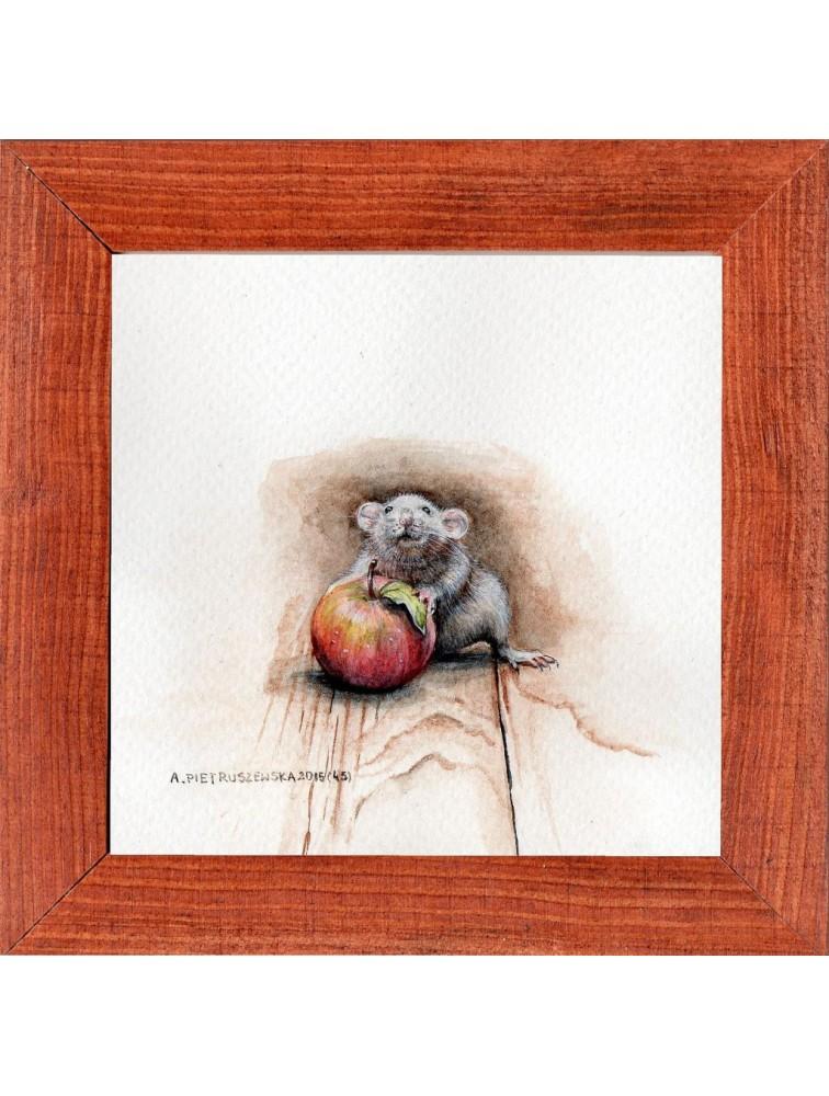 Agnieszka Pietruszewska - Miniatura z myszką