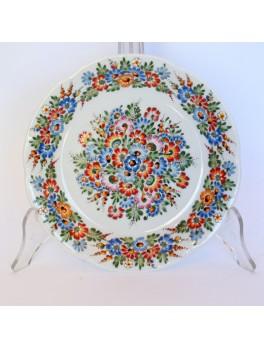 Talerz deserowy- opolska porcelana