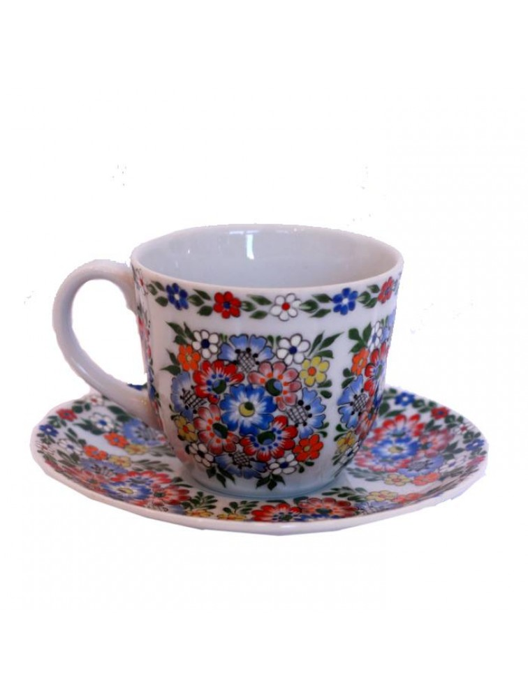 porcelanowa filiżanka do espresso