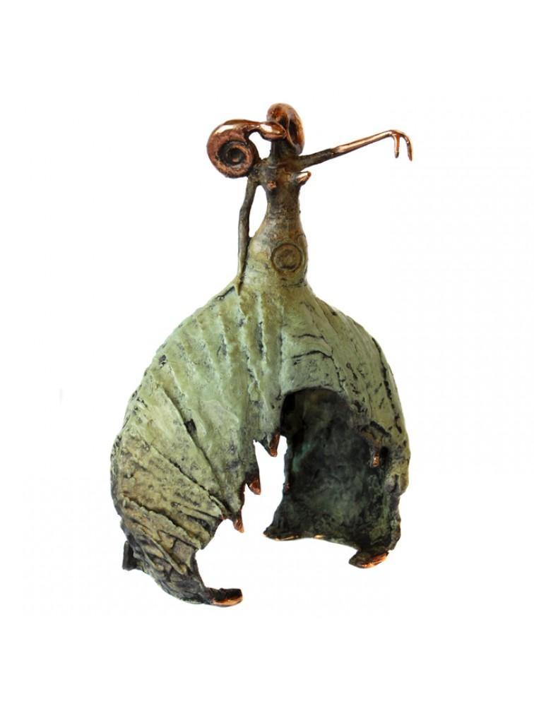 Diwa- rzeźba z brązu