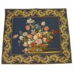 Tapestry - Basket full of flowers